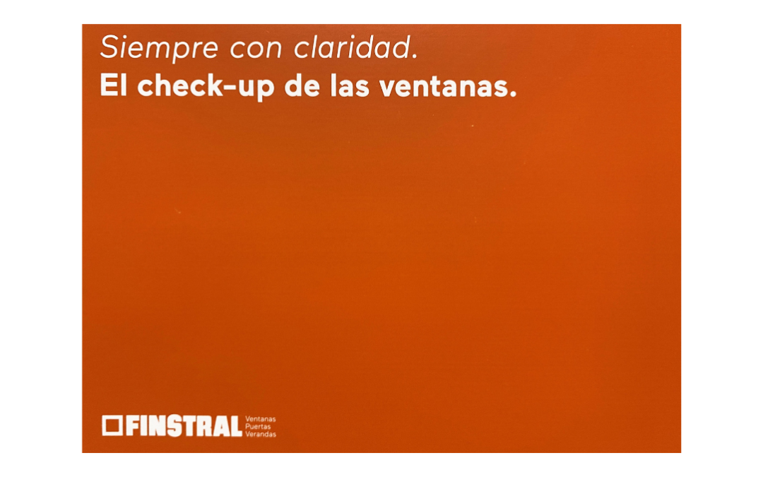 Check-up Finstral – Factoria Canabal
