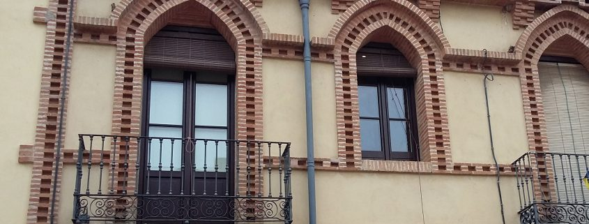 finestra de pvc finstral color fusta