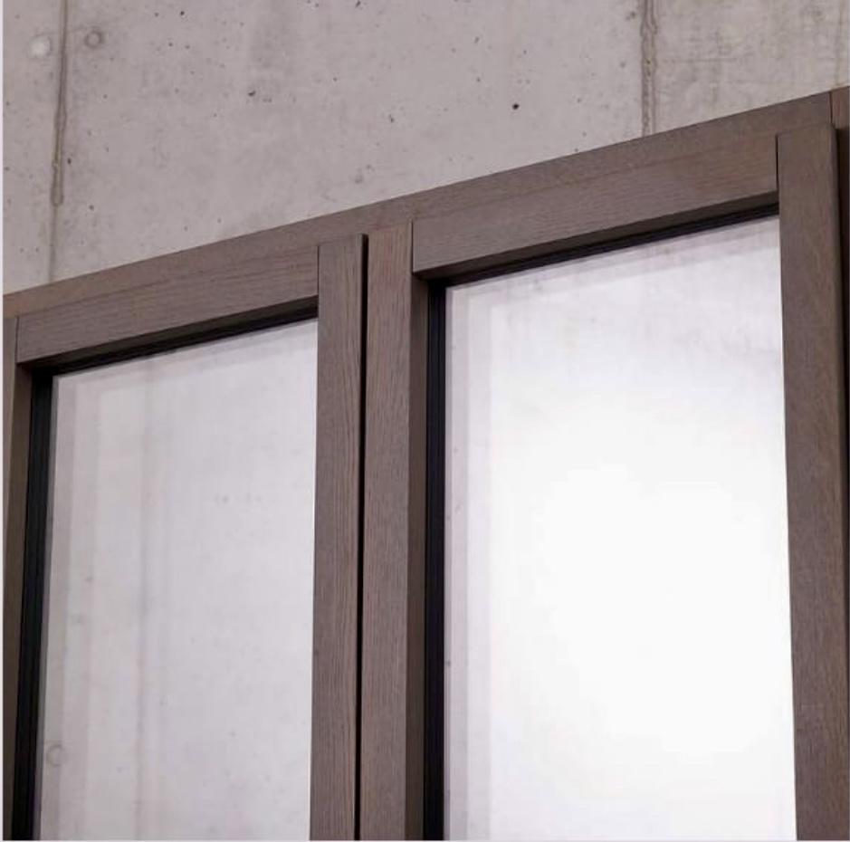 ventana de madera Finstral