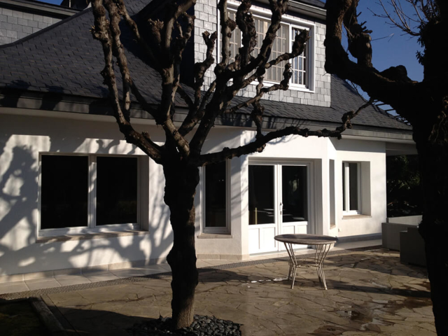 Ventanas de PVC en color blanco instaladas en Valldoreix